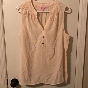 EUC Lilly Pulitzer sleeveless blouse